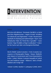 INTERVENTION. European Journal of Economics and Economic Policies