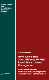 From Risk-Based Due Diligence to Risk-Based Transcultural Management