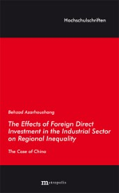 The Effects of Foreign Direct Investment in the Industrial Sector on Regional Inequality
