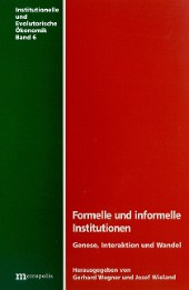 Formelle und informelle  Institutionen