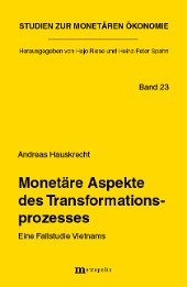 Monetäre Aspekte des Transformationsprozesses